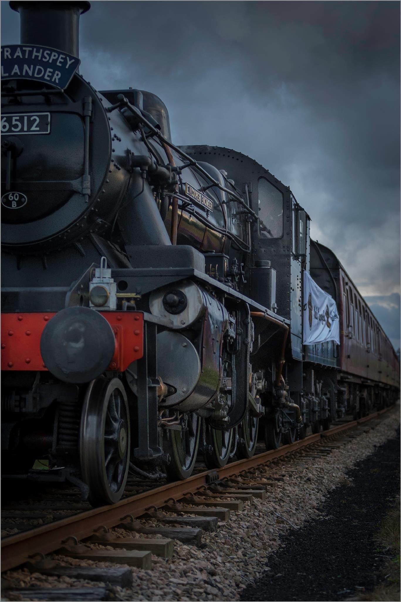 Photo in Vehicle #train #scottish highlands #steam train