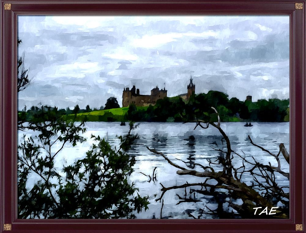 Photo in Random #art #oil #painting #view #castle #lake #palace #digital #scotland #fine #frame #canvas #framed #linlithgow