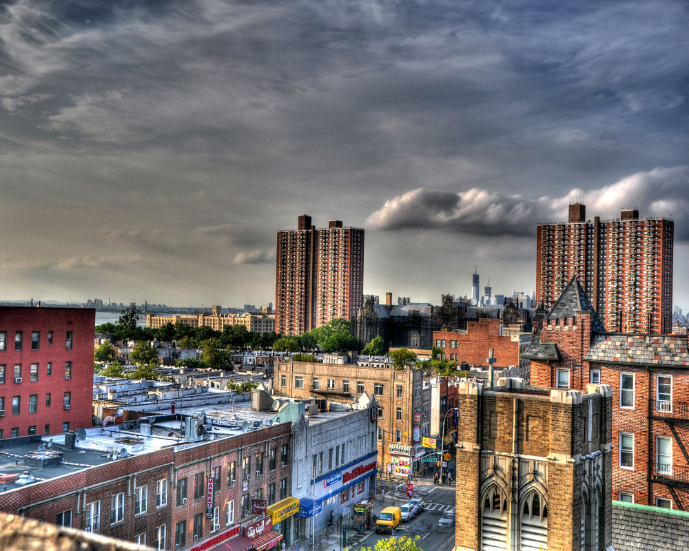 Photo in Random #view #hdr #brooklyn #roof #nyc #new york #new york city