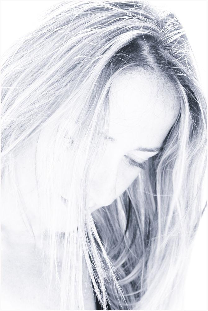 Photo in Random #beauty #portrait #black and white #denia #sandra #herbert #seiffert #costa blanca #spain. #ypa2013