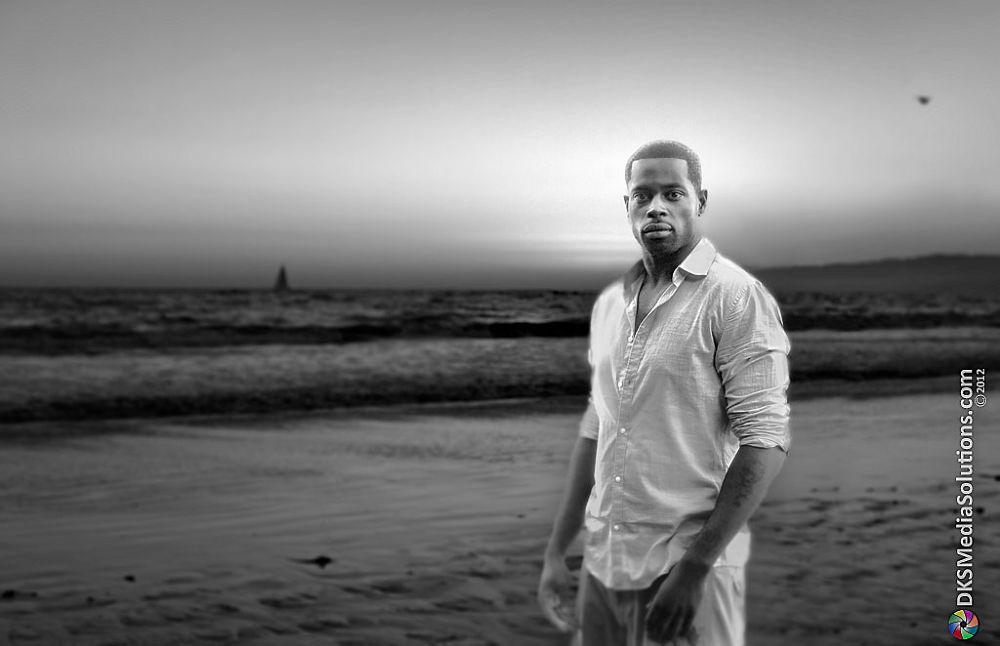 Photo in Black and White #ocean #editorial #model #david k. smith #jay coleman #santa monica pier #santa monica #sail boat #pacific ocean #black and w hite