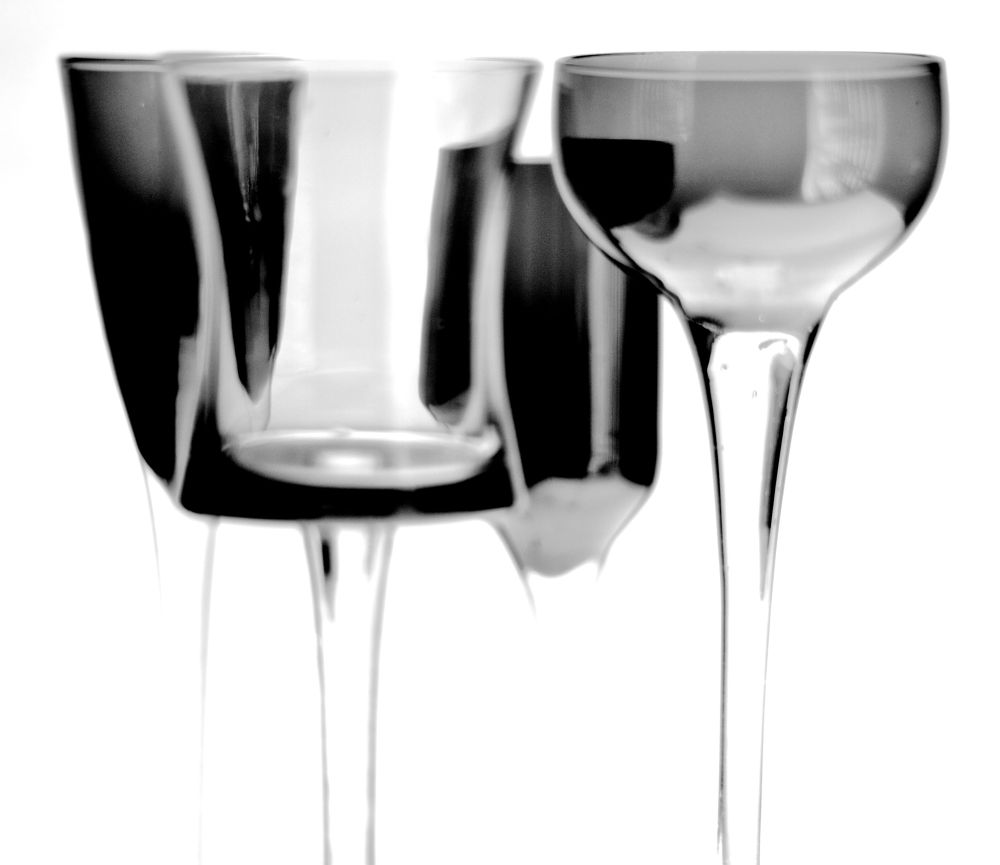 Photo in Fine Art #glass #black and white #fine art