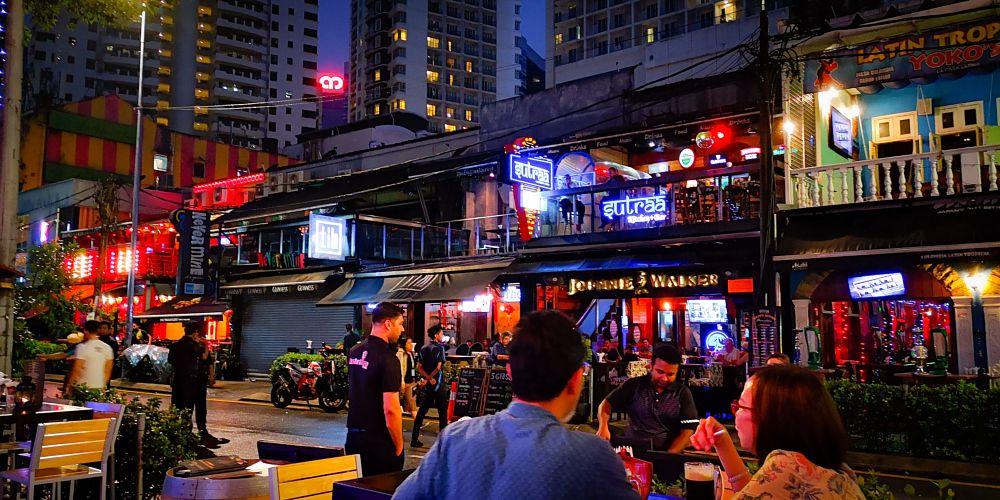 Photo in Street Photography #bukit bintang #bar #street #restaurant #nightlife