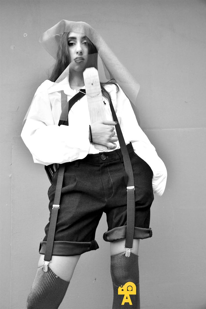 Photo in Fashion #blackandwhite #portrait