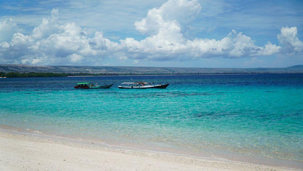 Photo in Random #beach #sea #blue #sky #landscape #indonesia #random #travel