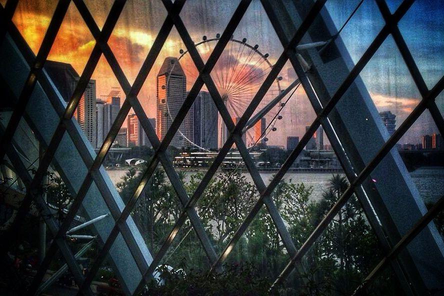 Photo in Cityscape #singapore #ferris wheel #cityscape #travel photography