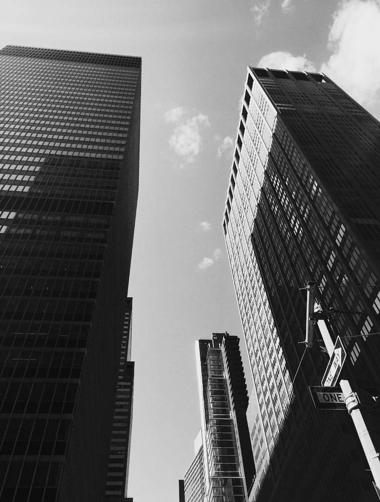 Photo in Black and White #new york #nyc #black and white #b&w #urban photography