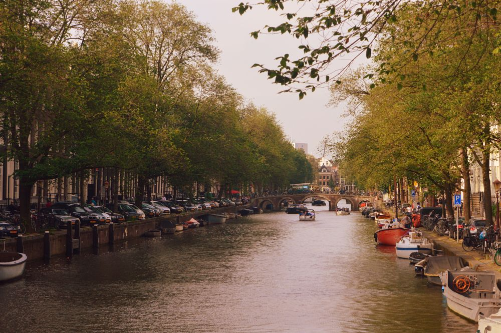 Photo in Landscape #amsterdam #netherlands #holland #canal #venice