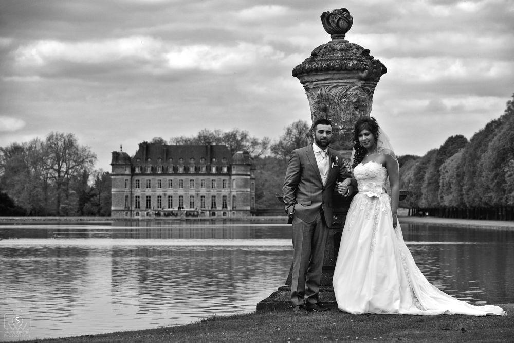 brides at the castle of Beloeil