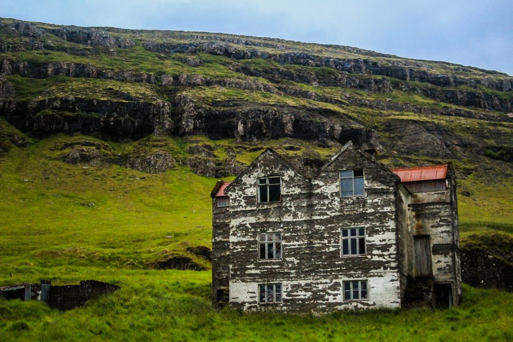 Photo in Nature #abandoned #old #house #rustic #iceland