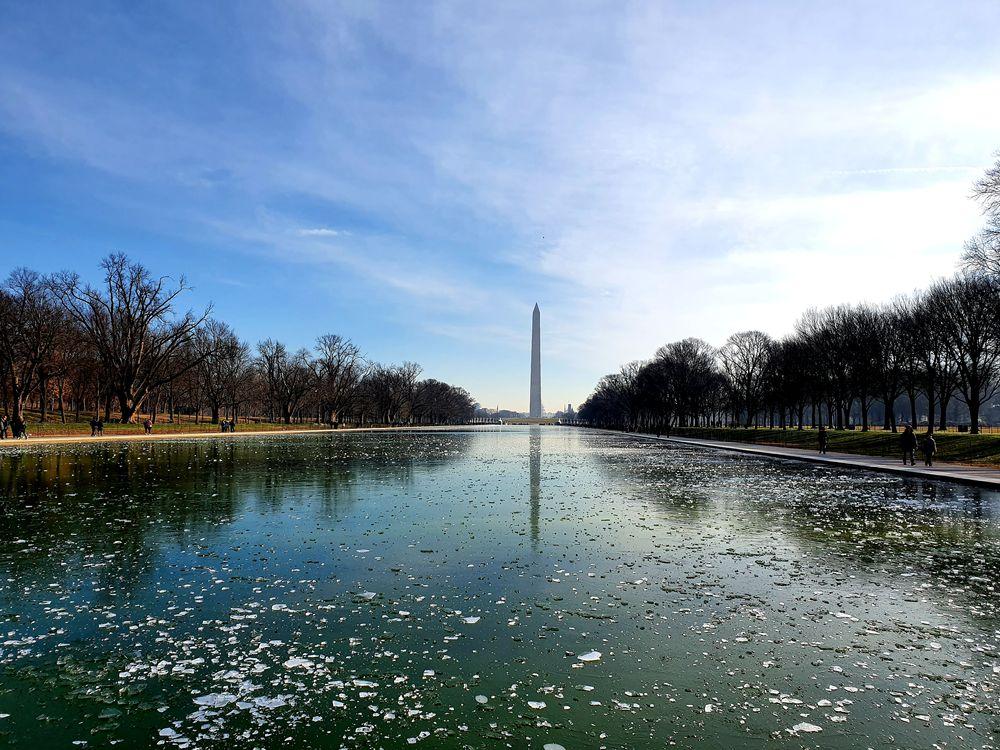 Photo in Random #ice #monument #washington
