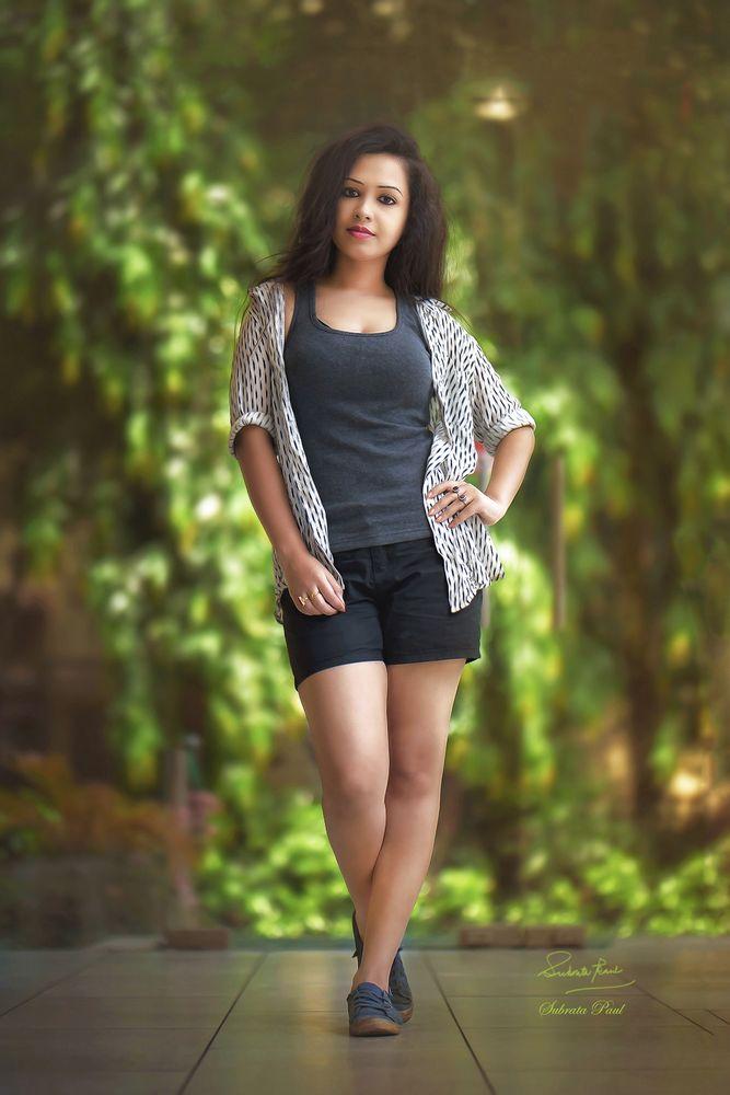 Photo in Random #portrait #people #fashion #model #bright #beauty #light #beautiful woman #casual dress #bold #sexy #mood #outdoor #dress