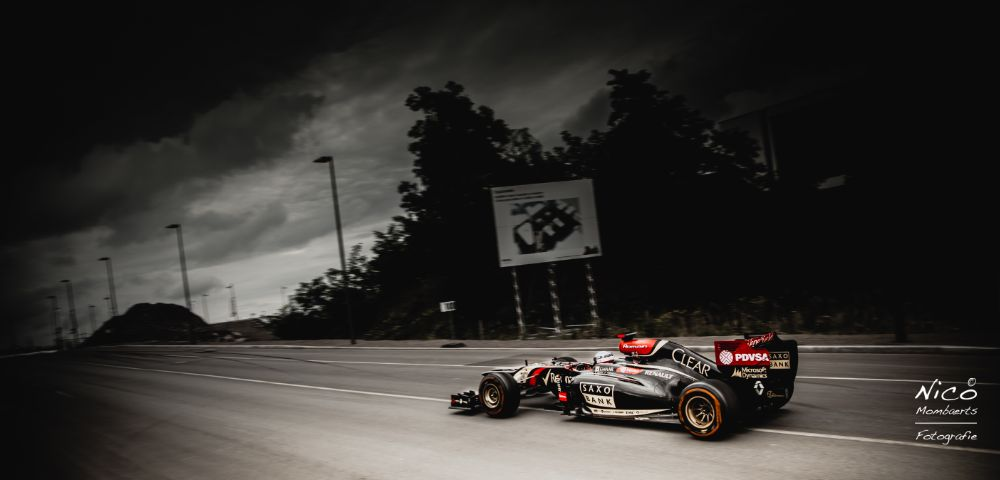 Photo in Vehicle #f1 #formula1 #racing #colour #black #race #car #speed #visitcontest