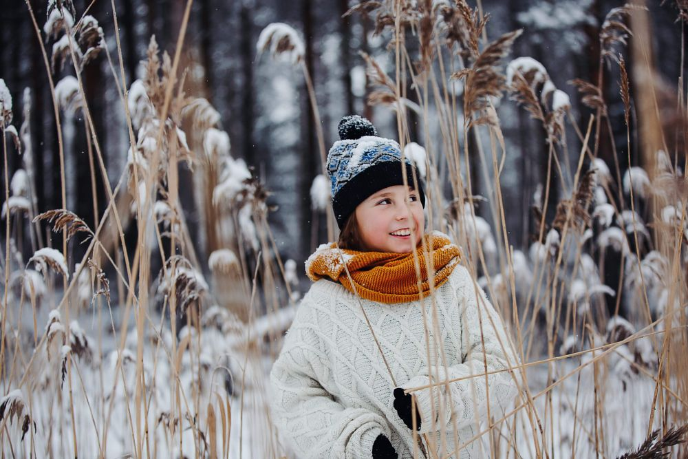 Photo in People #winter #snow #70-200 #sweden #boy #happy #smile