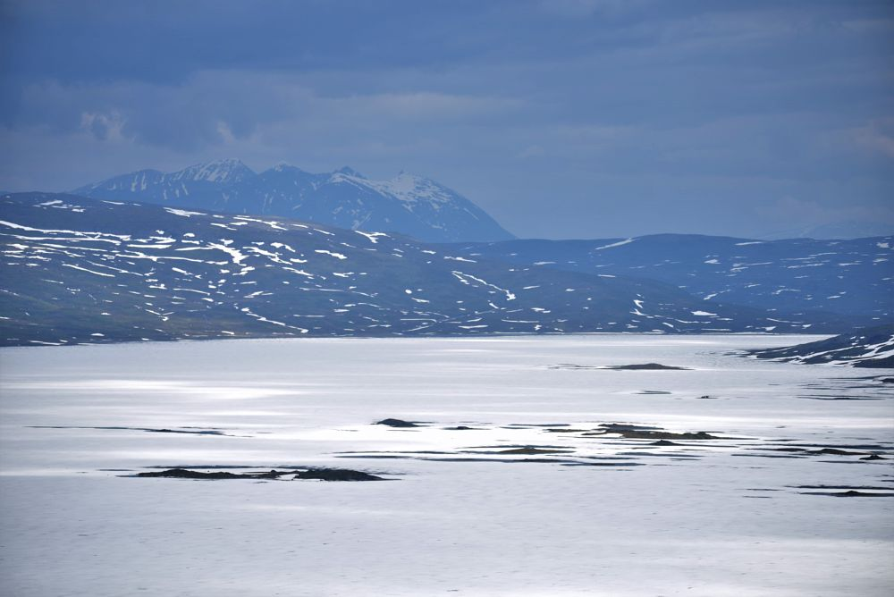 Photo in Nature #ice #lake #nordland #norway end to end