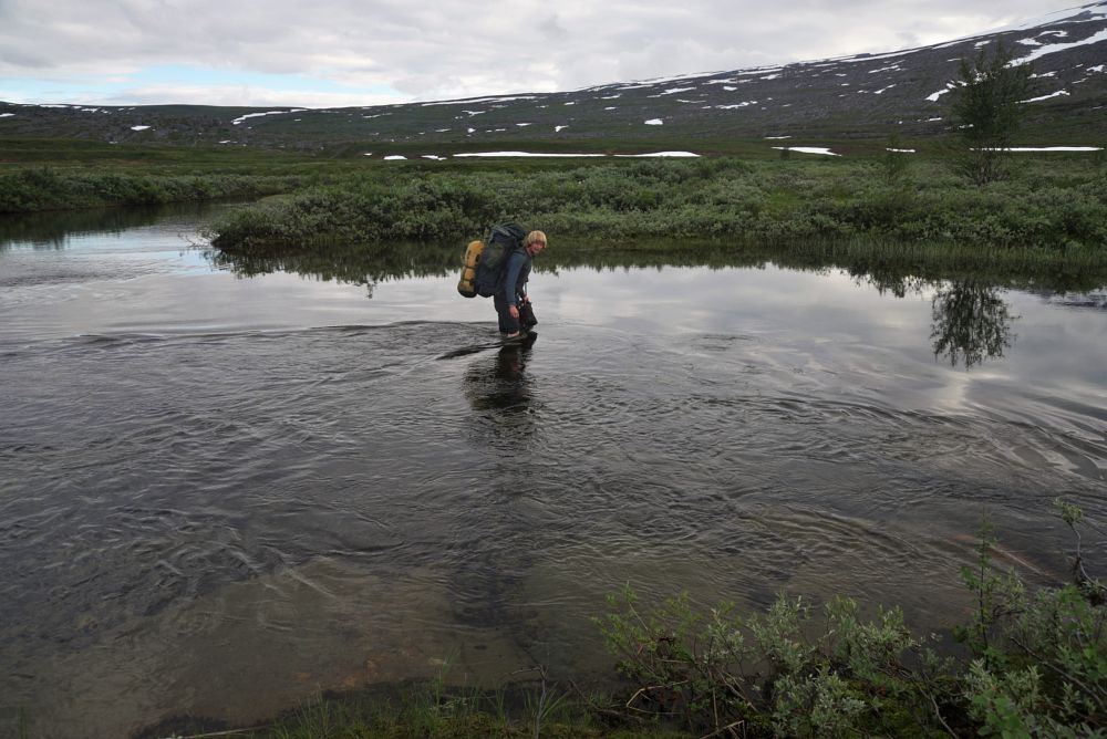 Photo in Nature #creek #nordland #norway end to end