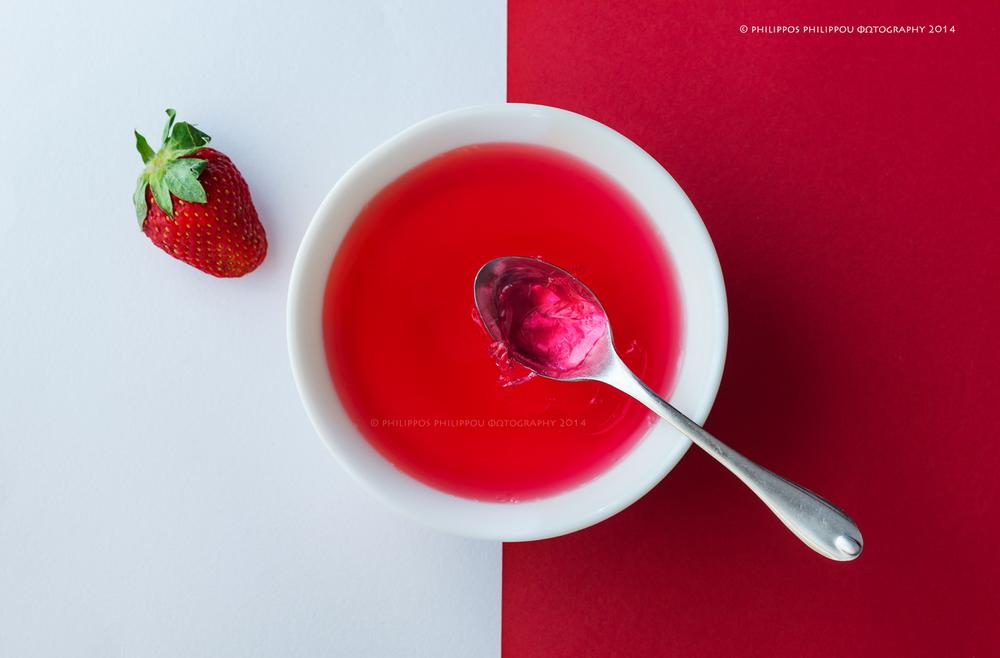 Photo in Food #sweet jelly #red #aegean #rhodes #visitrhodes #food #food art #foodstyling