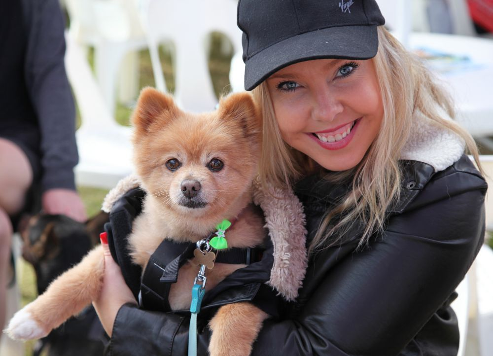 Photo in Random #dog pet woman
