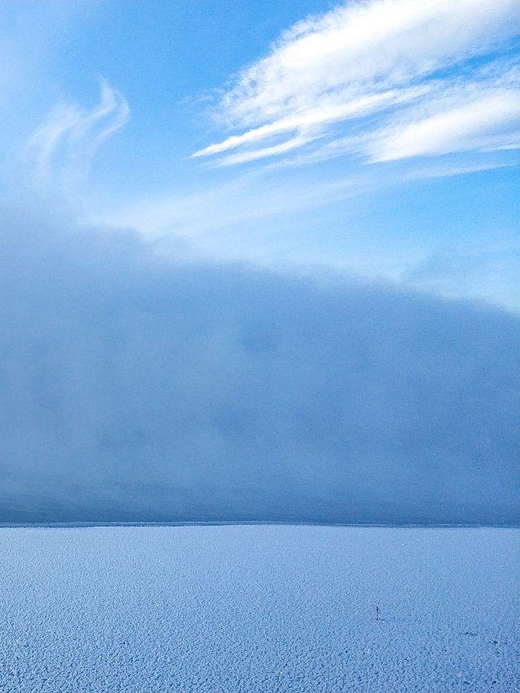 Photo in Landscape #fog #mist #winter #snow #clouds