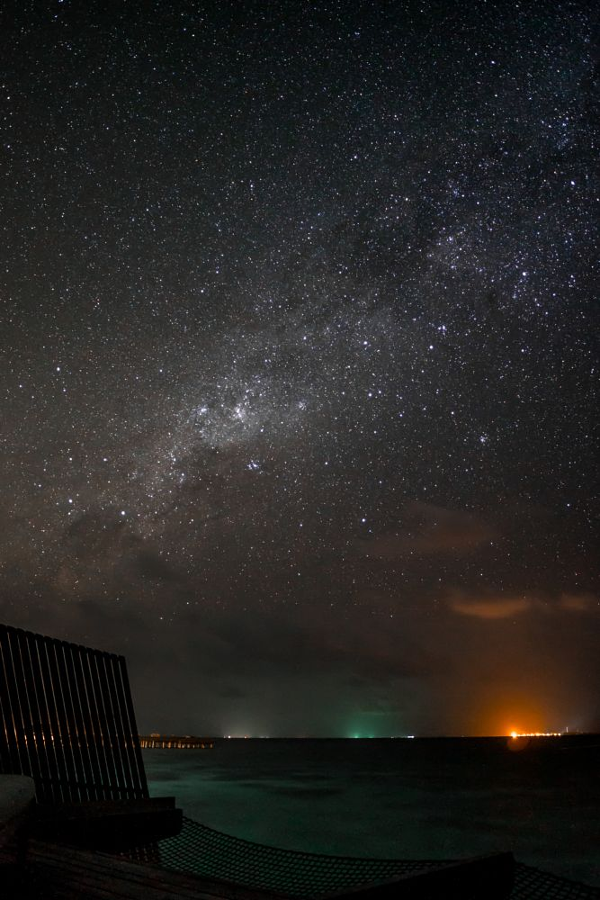 Photo in Astrophotography #astrophotography #maldives #island #resort #stars #longexposure #milkyway #galaxy