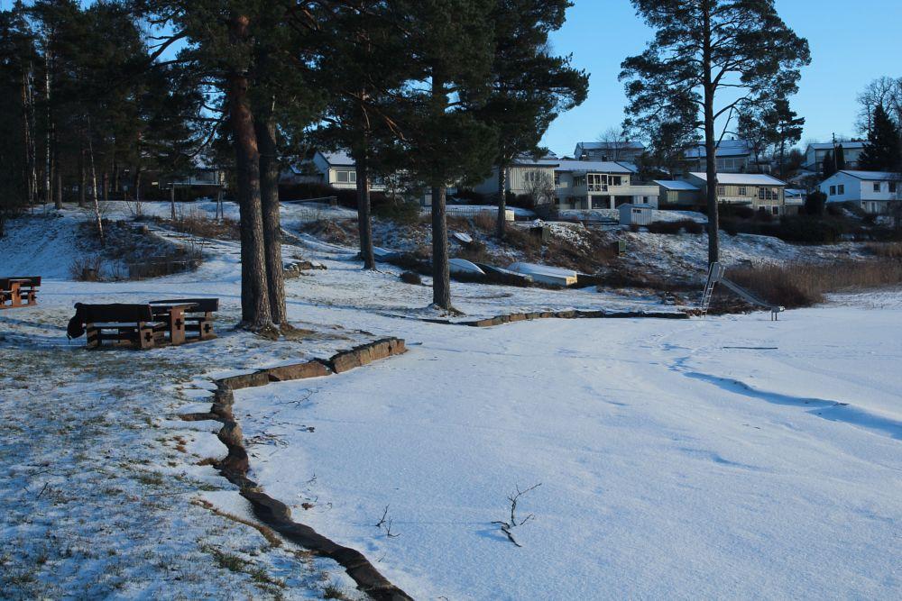 Photo in Landscape #nature #landscape #snow #frozen #wide #depth