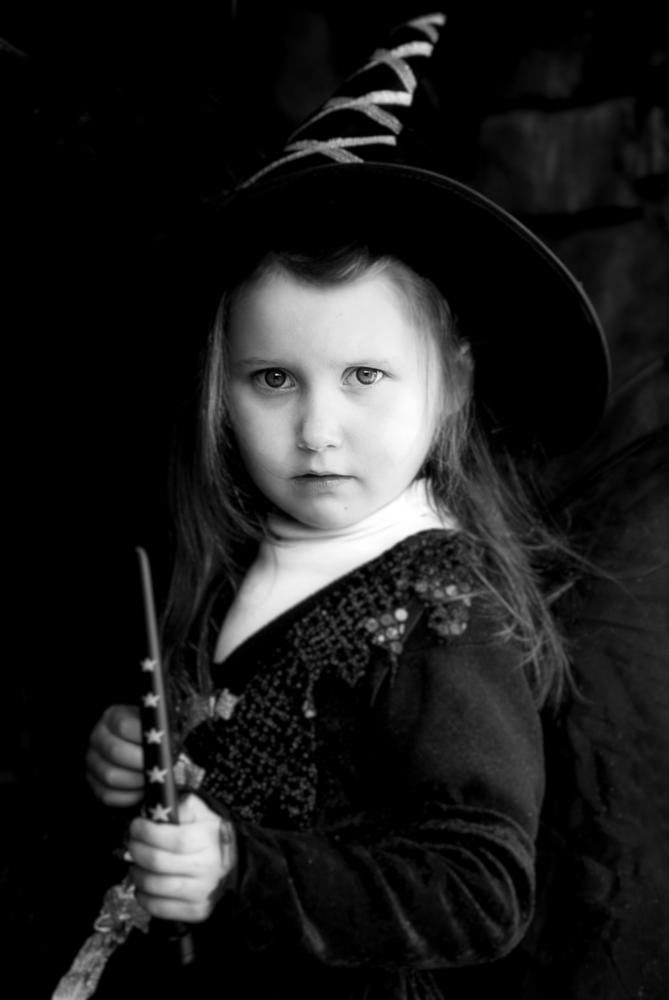 Photo in Portrait #portrait #halloween #girl #kids