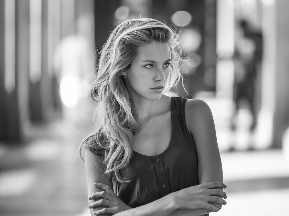 Photo in Portrait #bnw #paris #france #blackandwhite #outdoors #photo #black and white #daylight #natural light #black #white #sexy #woman #cute #girl #femme #female #beauty #love #canon #people #film #retouch #elegance #style #portrait #blonde #hair #eyes #face #looking #sensual #beautiful #attractive #glam #model #monochrome