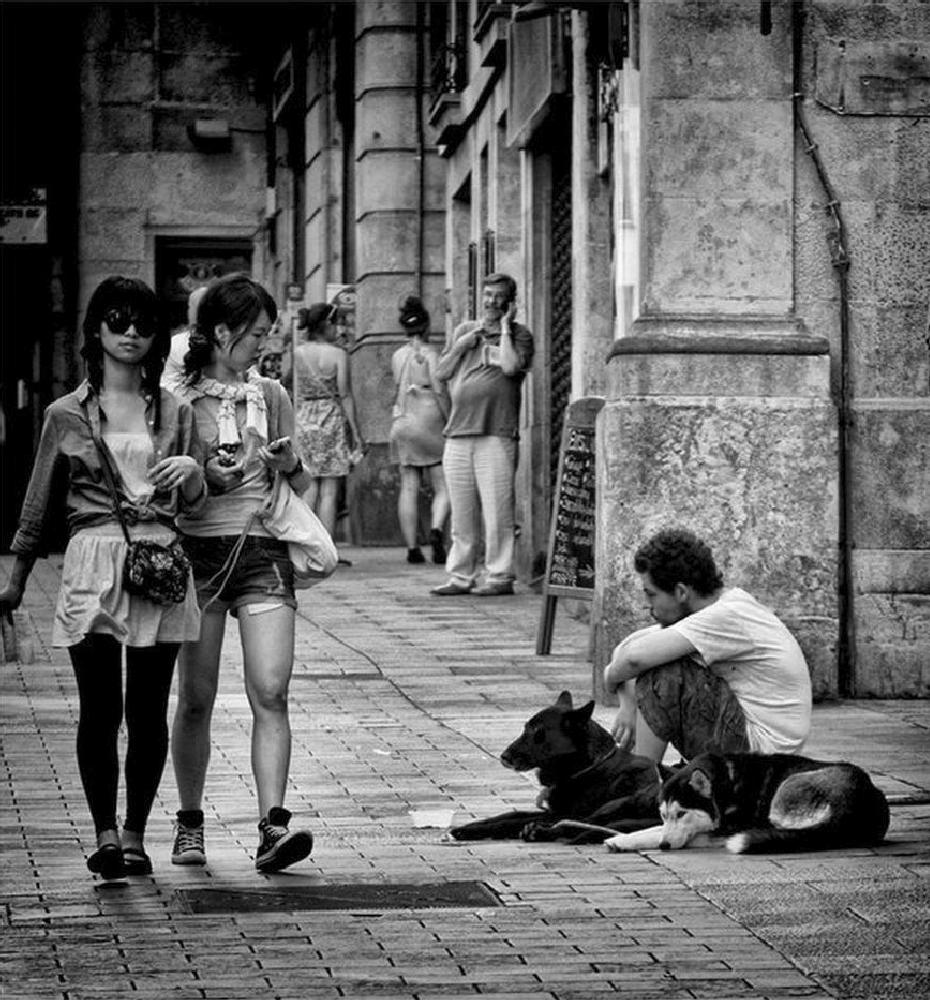 Photo in Street Photography #street #life #black & white