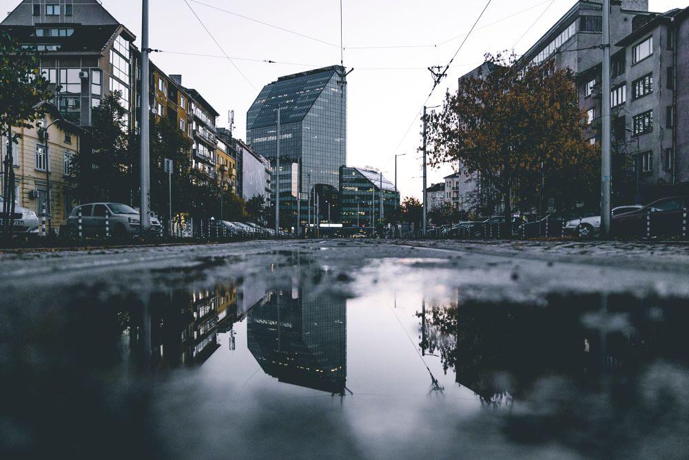 Photo in Cityscape #city #urban #reflection #cityscape #sofia