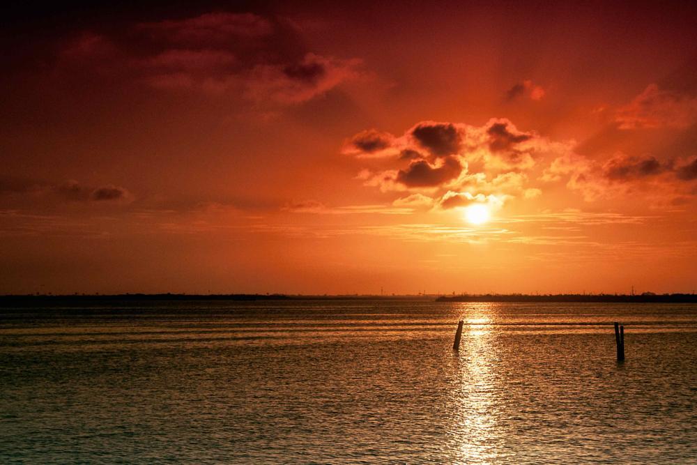 Photo in Landscape #sunset #cancun #lancaster #danielbaraggia