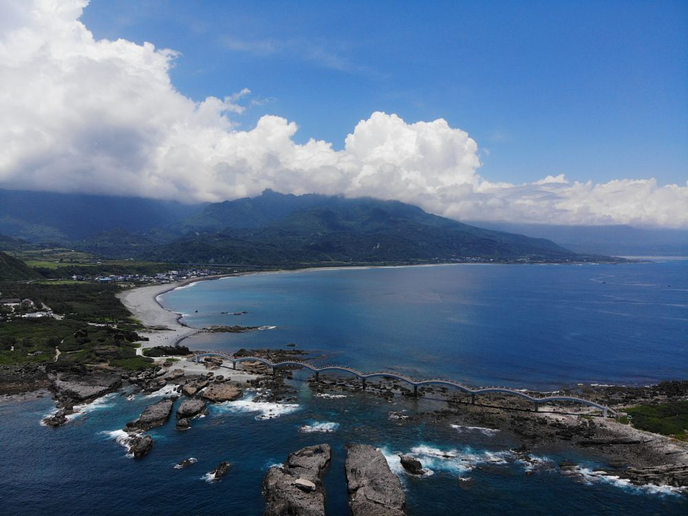 Photo in Random #taiwan #taitung #sansiantai #mavic air