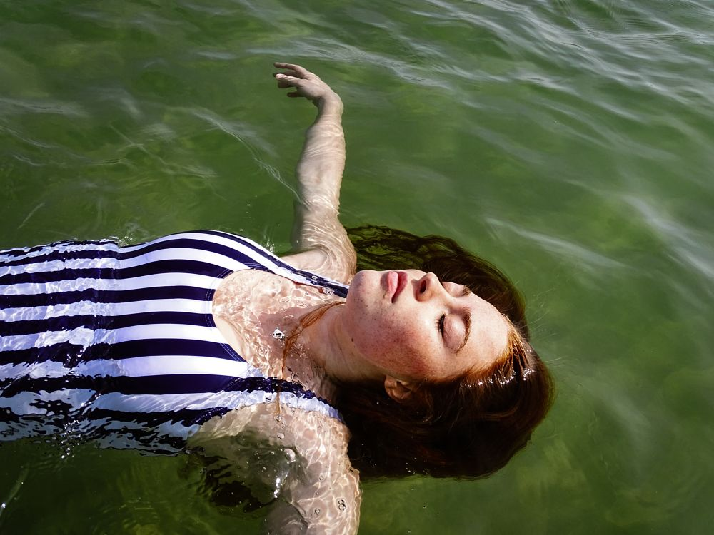 Photo in Sea and Sand #peace #quiet #sea #redhead #freckles