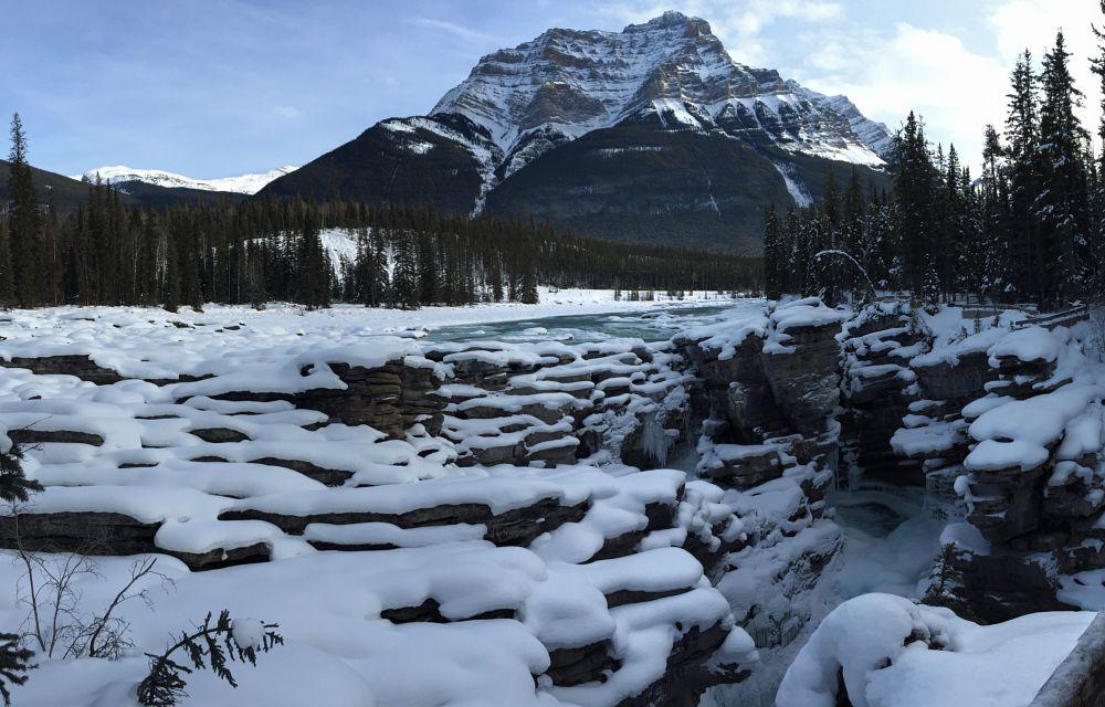 Photo in Random #banff #alberta #mountains #snow #winter #winter wonderland #jasper #banff national park
