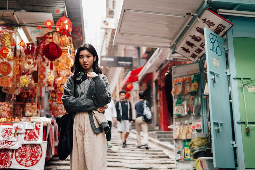 Photo in Portrait #hong kong #chinese #festival #portrait #city #hk