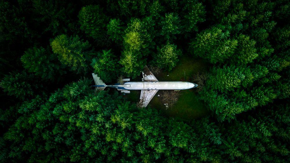 Photo in Nature #airplane #explore #drone #mavicpro #oregon