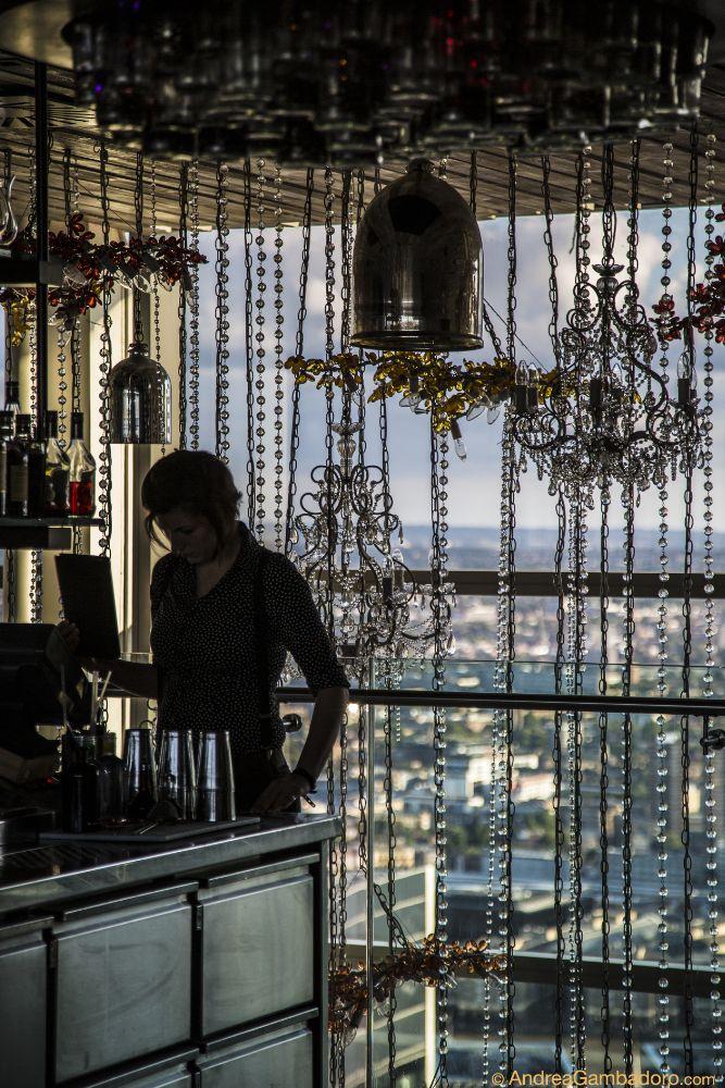 Photo in Architecture #sushi #samba #bar #london #interior