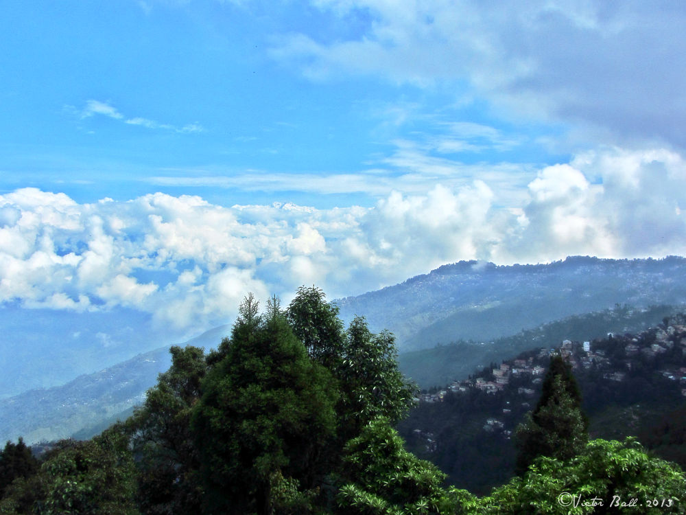 Photo in Travel #clouds #travel #landscape #himalaya #india