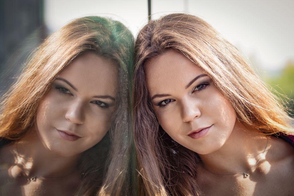 Photo in Portrait #mirors #portrait #nicewoman