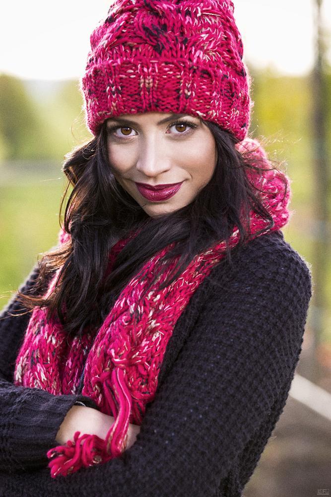 Photo in Portrait #outdoor #fashion #lifestyle #longhair #winter #lefu #lefuphoto