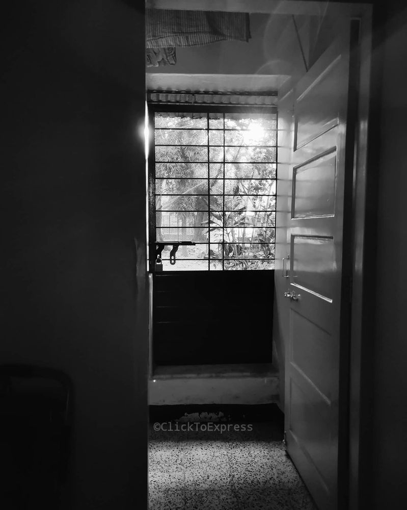 Photo in Black and White #door #light #world #outside #bnw