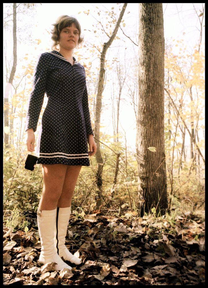 Photo in Random #woman #wife #teen #teenager #slide #film #minolta #srt101 #spring