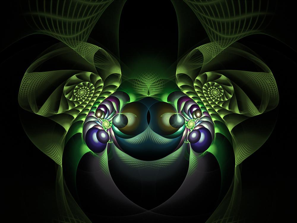 Photo in Abstract #fractal #digital art #swirl