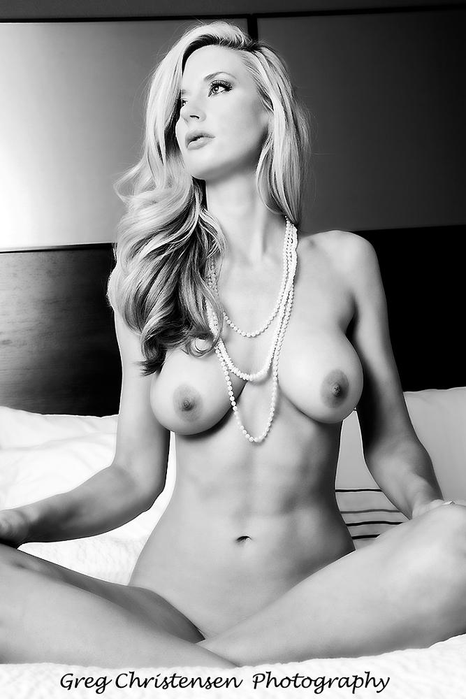 Photo in Nude #gregchristensenphotography #leanne #nude #beauty #sexy #glamour #curves #breasts #female body #shape #blonde #model