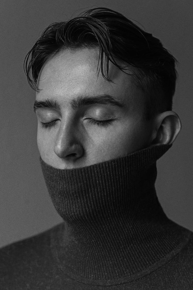 Photo in Black and White #boy #men #male #tarkovsky