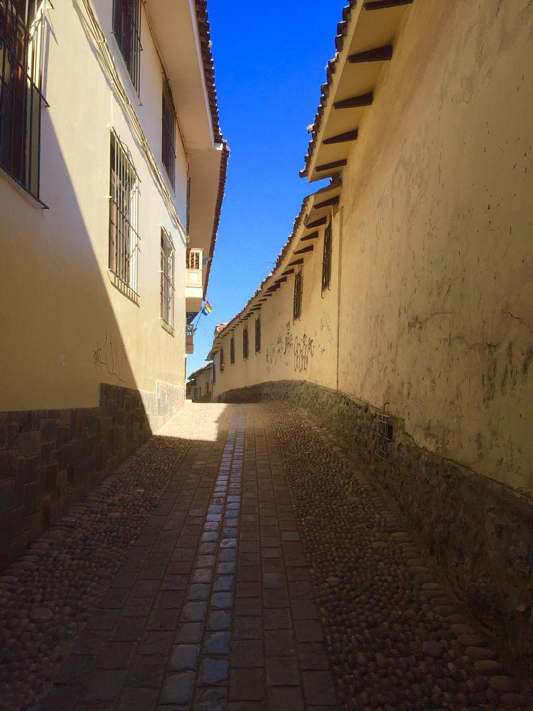 Photo in Cityscape #cusco #peru #cityscape #street #perspective #perú