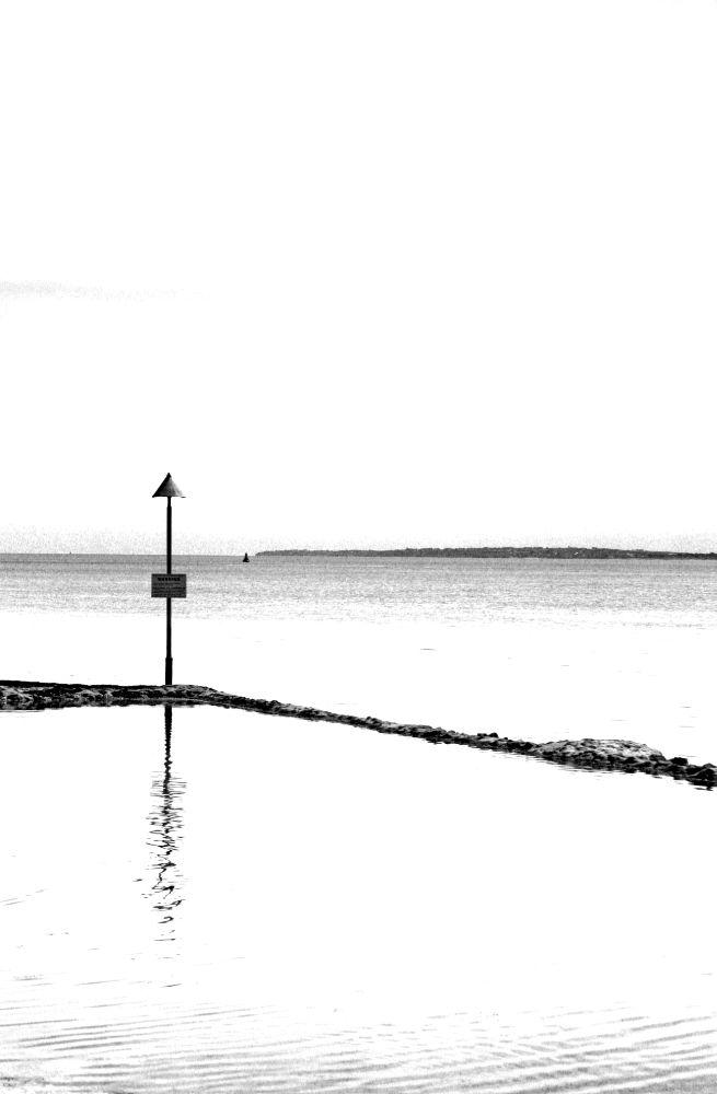 Photo in Sea and Sand #mono #sea #minimal
