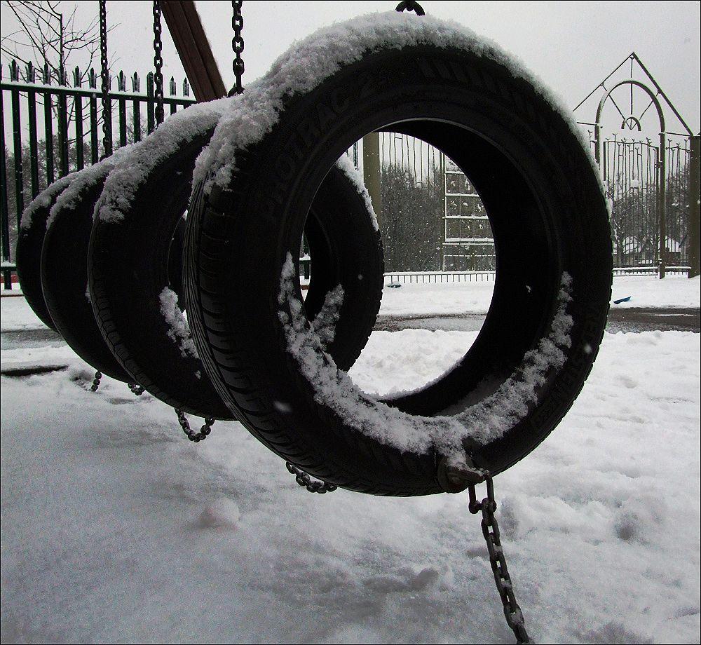 Photo in Random #tyres #playground #climbing apparatus
