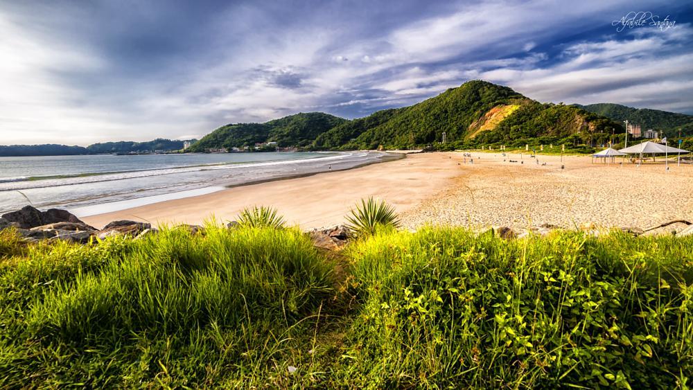 Photo in Landscape #praiadoatalaia itajai