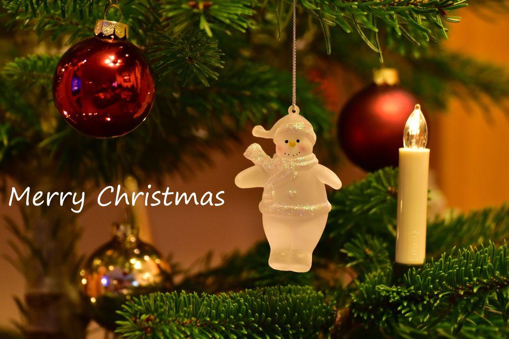Photo in Random #merry christmas #snowman #christmas tree #christmas tree balls #candel