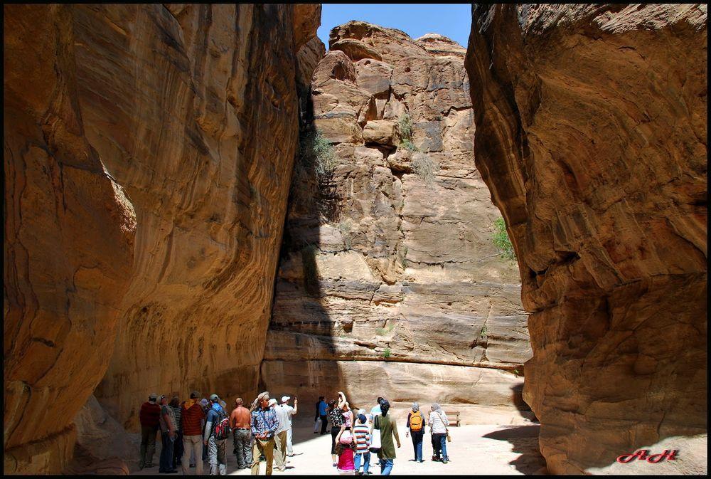Photo in Travel #canyon #petra #jordan